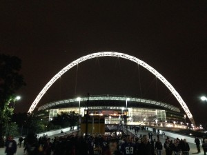 Wembley by Night