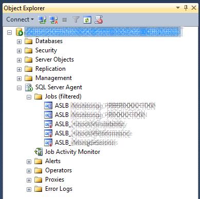SQL Agent Jobs Filtered
